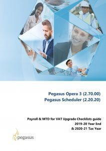 Payroll Upgrade 2020 Checklist